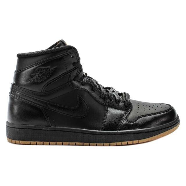 the latest d0b13 be543 Nike Air Jordan 1 One Retro High OG Sneaker Basketball Shoes black 575441  020