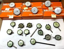 Mitutoyo And Federal Dial Indicators Qty 21 Used And For Parts Variety