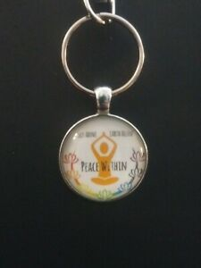 Peace-Within-Yoga-Keychain