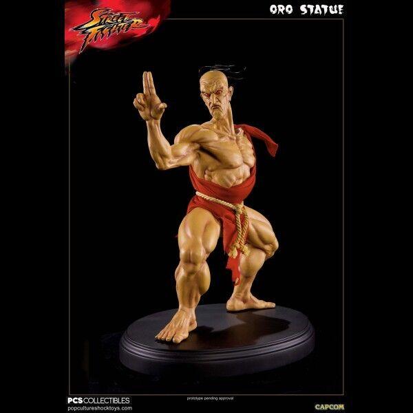 -= -= -= ] POP CULTURE - Street Fighter  Gold 1 4 Statue [ =- fb4aac
