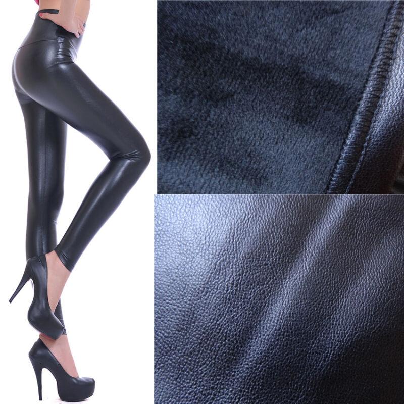 2-er Set Risparmio Leggings da donna lungo a sigaretta pantaloni in cotone alta federale S-XXXL