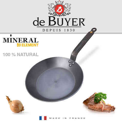 Buyer - Mineral B Element - Round Cast Iron Frying Pan 20 cm