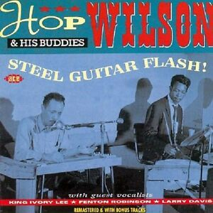 Hop-Wilson-Steel-Guitar-Flash-Plus-New-CD-UK-Import