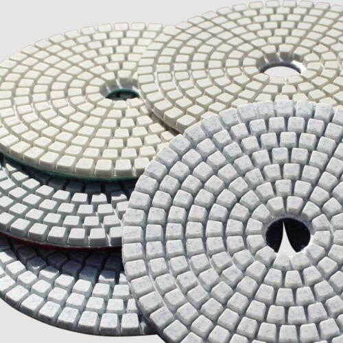 Diamond Polishing Pads 4 Inch 50 piece Set Wet Dry For Granite Concrete Marble