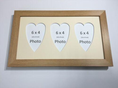 Multi cœur cadre photo chêne-détient 3 x 6/'/'X4/'/' choisir de 4 mount couleurs