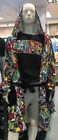 Primark Marvel Mens Super Soft Dressing Gown S/m Or L/xl Primark