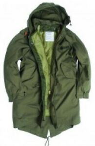 Field invernale Xsmall Fishtail Us Parka Parka Army Giacca Xs Shell Gi Hooded M51 fq7fR80x