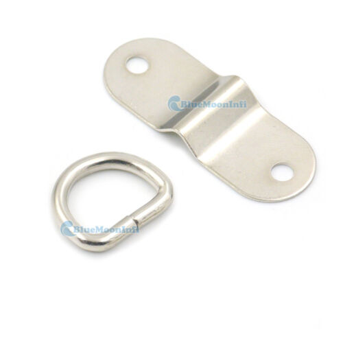 Metal Arch Bridge With Double Cap Rivet Square D Ring Buckle Bags Strap Rings