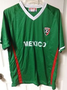 check out 81025 92746 Vintage Mexico National Team Futbol Soccer Jersey Size Mens ...