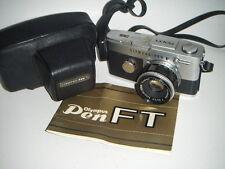 Nice LEGENDARY cult Olympus Pen FT 38mm f1,8 Lens , 35mm Half Frame Camera