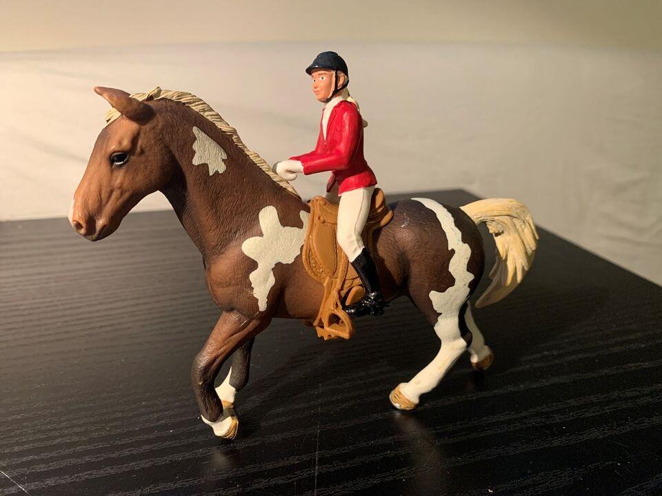 Figurer, Hest med rytter, Schleich