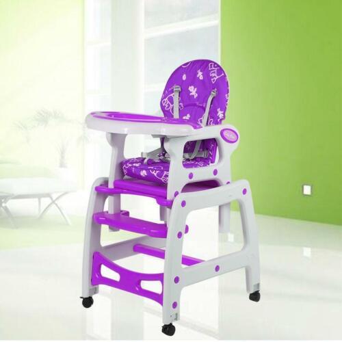 3 in 1 Multifunktions Hochstuhl Kinderhochstuhl Babystuhl Kleinkindstuhl Stuhl