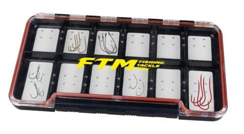 Hookbox Haken Spoon Box verschiedene Größen Fishing Tackle Max FTM Spoonbox