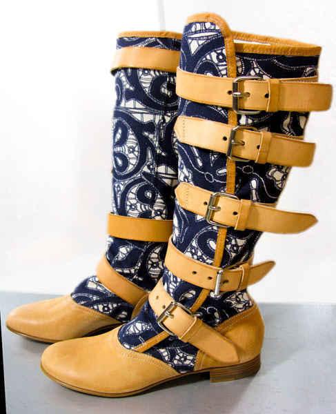 Authentic Vivienne Westwood Pirate Boots in Lace Print sz 37.5 37.5 37.5 new NIB  e9ea94