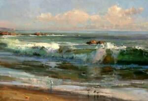 CHOP1215-100-handmade-painted-ocean-seascape-oil-painting-art-on-canvas