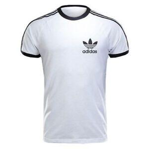 Détails sur Homme Adidas Sport Essentials CALIFORNIA Tee T shirt Homme ORIGINALS Blanc S XL afficher le titre d'origine