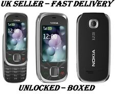 NOKIA 7230 BLACK SIM FREE  NEW CONDITION  3G 3.2MP CAMERA  BLUETOOTH  PHONE