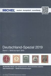Michel-Germany-Special-Band-1-2019-until-April-1945-IN-Color-Damaged-Copy