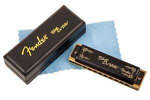 Fender Blues Deville 10 Hole Major Diatonic Harmonica in the Key of C