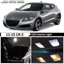 13pcs LED Blue Light Interior Package Kit for Honda CRZ 2013-2015