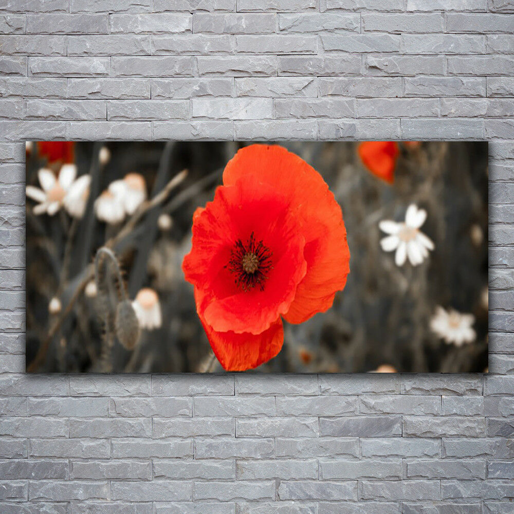 Canvas print Wall art on 120x60 Image Picture Flower Floral