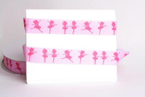 "DANCING BALLERINA GIRLS PINK 7//8/"" Grosgrain Ribbon 1,3,5,10 Yards SHIP FROM USA"