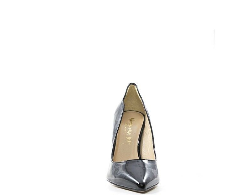 Schuhe REBECCA VAN - DIK Frau NERO Lack - VAN Optik E64VER-NE a88e8e