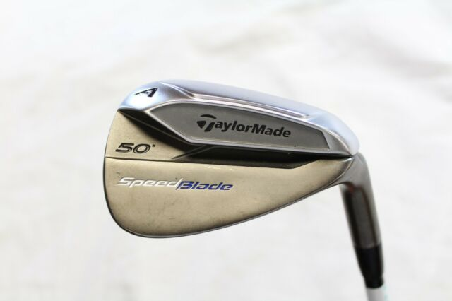 Used TaylorMade Speedblade 50* AW Gap Wedge Mitsubishi Kuro Kage 80 Regular Flex