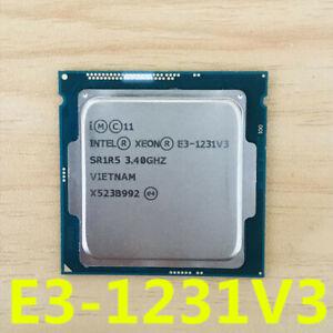 Intel-Xeon-E3-1231-V3-CPU-4-Core-3-4GHz-8M-LGA-1150-SR1R5-80W-Processor