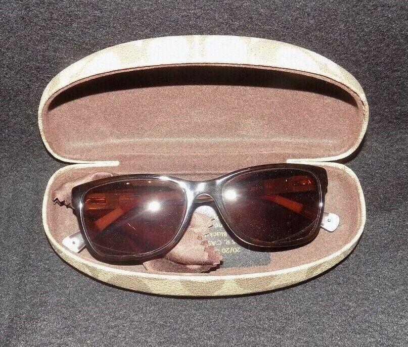 COACH Julayne HC 6013 DARK TORTOISE AUTHENTIC RX Sunglasses w/Hard Case