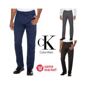 NEW-Calvin-Klein-Men-039-s-Stretch-Straight-Leg-5-Pockets-Pants-Jeans-VARIETY