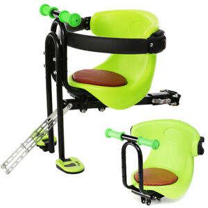 Bicycle Front Seat Safety Stable Baby Child Kids Chair Carrier w//Foot Pedals