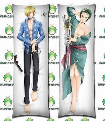 one piece zoro sanji YC0249 Anime Dakimakura body pillow case