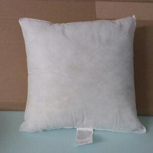 pillow form insert square hypo allergenic 18 x 18 1 new ebay. Black Bedroom Furniture Sets. Home Design Ideas