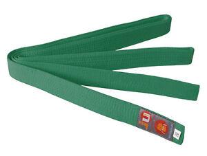 Ju-Sports Budo-Gürtel grün, Karate, Judo, Ju-Jutsu, Taekwondo-Gürtel, BELT