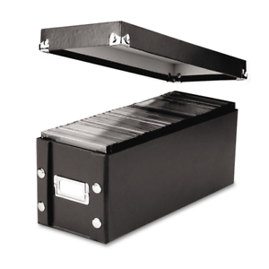 """Snap-N-Store CD Storage Box Holds up to 165 CDs, 13.25/"""" x 5.125/"""" x 5.125/"""""""