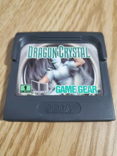 Dragon Crystal Game Gear, Works great!