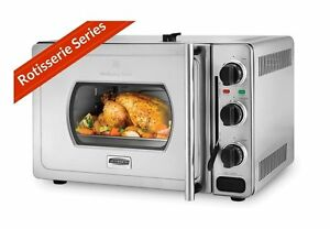 Wolfgang Puck Pressure Oven Rotisserie 29 Liter Stainless