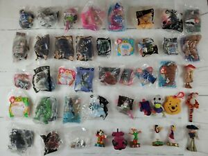 Brand-New-Sealed-And-Loose-McDonald-s-Happy-Meal-Lot-of-44-Toys-Disney-Barbie