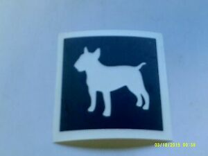 10 - 400 Staffordshire bull terrier / pitbull dog stencils for etching glass