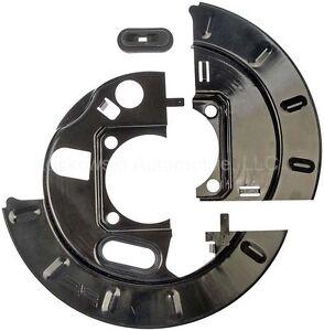 For Chevy GMC Rear Disc Brake Dust Shield Dorman 924002 8.625 Ring Gear One Side