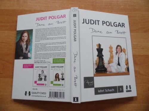 Judit Polgar Dame am Brett Quality Chess deutsche Erstausgabe 2016 Schlußband