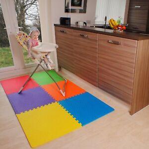 20Pcs 30x30cm Eva Foam Mat Soft Floor Tiles Interlocking Play Kids Baby Gym Mats
