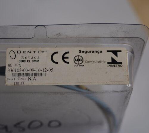 Bently Nevada 3300 XL 8mm 330103-00-09-10-02-05 sensor probe