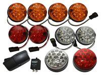Land Rover Series 2 Deluxe Led Colour Light Kit 73mm Part Da1292
