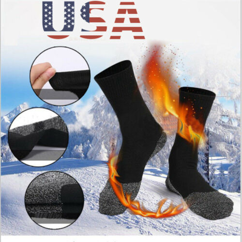 Winter Warm 35 Aluminized Keep Feet Heat Fibers Below Socks Insulation Long Sock