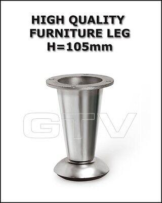 Alluminio Metallico In Acciaio Cromato Satinato Gambe Per Mobili Divano Gabinetto Nm-780-mostra Il Titolo Originale