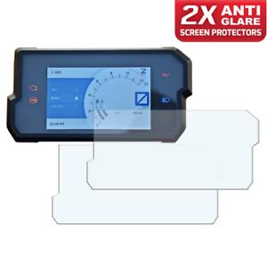 Dashboard Screen Protectors 1 x Ultra-Clear /& 1 x Anti-Glare GSX-S1000 2016
