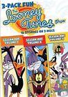Looney Tunes Show 3 Pack Fun 0883929237548 With Bob Bergen DVD Region 1