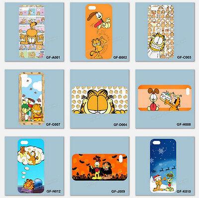 Garfield comic cat Cartoons Anime Movie Smartphone Phone Case iPhone Samsung